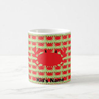 Red of sea crab coffee mug