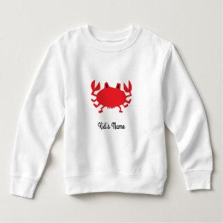 Red of sea crab sweatshirt