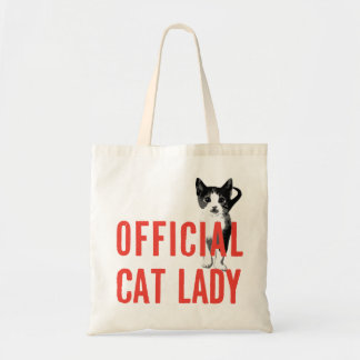 Red Official Cat Lady Bag