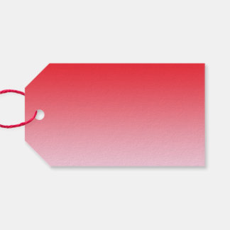 Red Ombre Pack Of Gift Tags