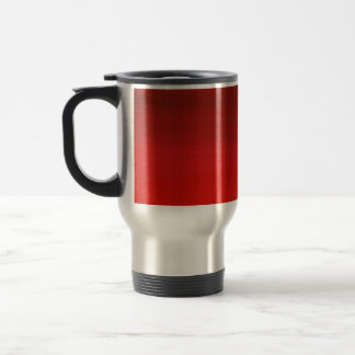Red on Red Painting Travel Mug