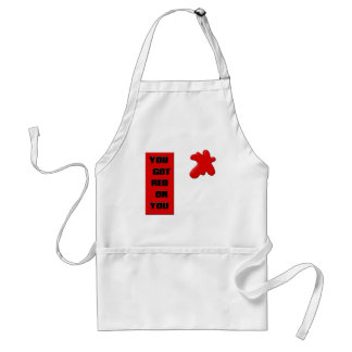 Red On You Apron