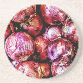 Red Onion Coasters