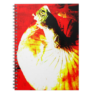 Red Onion Garden Notebook