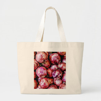 Red Onion Large Tote Bag