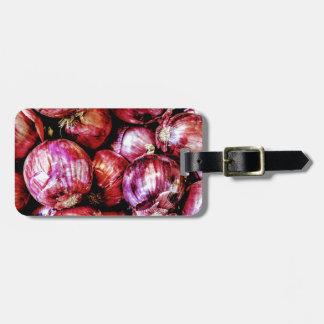 Red Onion Luggage Tag