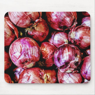 Red Onion Mouse Pad