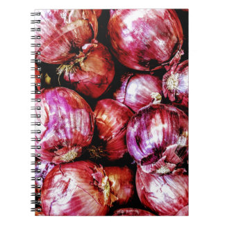 Red Onion Notebook