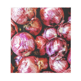 Red Onion Notepads