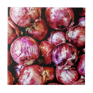 Red Onion Tile