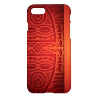 Red & Orange African Pattern Design iPhone 8/7 Case
