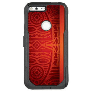 Red & Orange African Pattern Design OtterBox Commuter Google Pixel XL Case