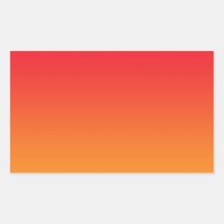 Red & Orange Ombre