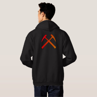 Red/Orange Rock Hammers Hoodie