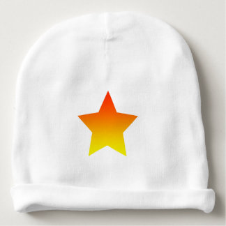 Red/Orange star Baby Beanie