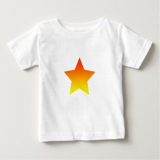 Red/Orange star Baby T-Shirt
