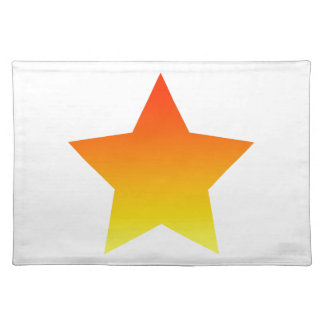Red/Orange star Placemat