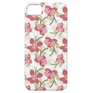Red orchids iPhone 5 cover