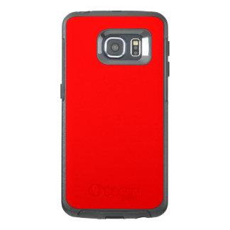 Red Otterbox Defender Samsung Galaxy S6 EDGE Case