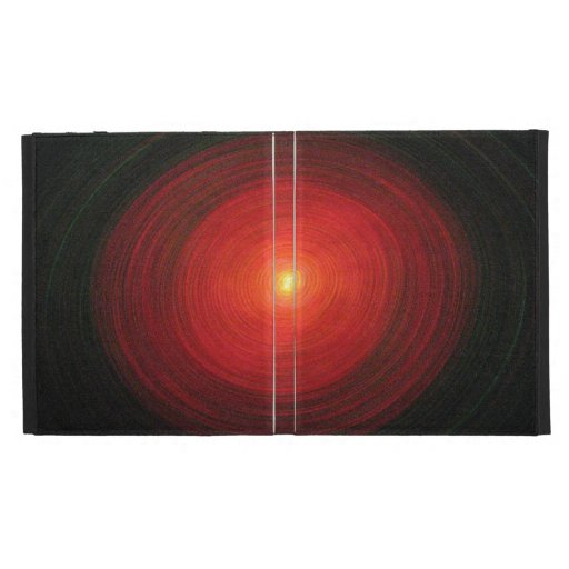 """""""Red Oval"""" - iPad Case"""