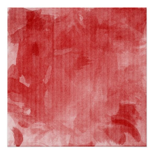 Red Painted Backdrop Canvas Print