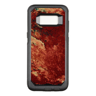 Red Painted Rock OtterBox Commuter Samsung Galaxy S8 Case