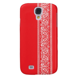 Red Paisley Bandana iPhone 3 Case