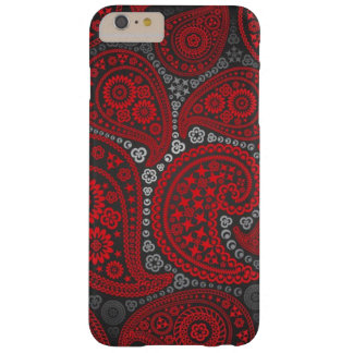 Red Paisley Pattern iPhone 6 Plus Case