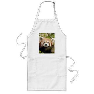 red-panda-004, Red Panda Long Apron