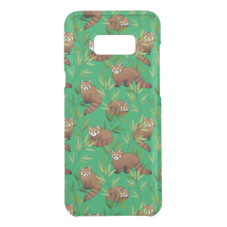 Red Panda & Bamboo Leaves Pattern Uncommon Samsung Galaxy S8 Plus Case