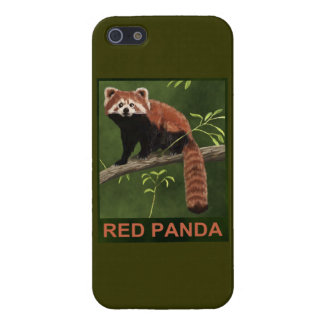 Red Panda Cover For iPhone 5/5S