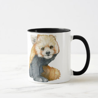 Red Panda Cub - R is for Red Panda Mug