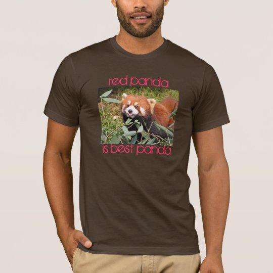 Red Panda is Best T-Shirt