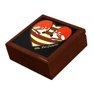 Red Panda Love heart Gift Box