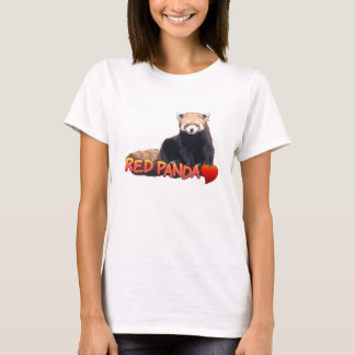 Red Panda Love shirt