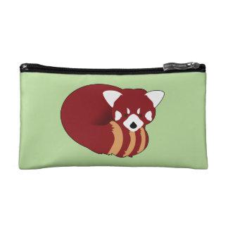 Red Panda Makeup Bag