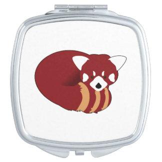 Red Panda Mirror For Makeup