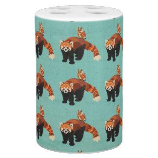 Red Panda & Owl Bath Set