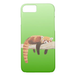 Red Panda phone cover