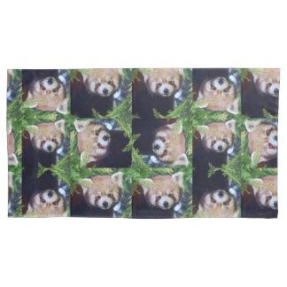 Red Panda Pillowcase