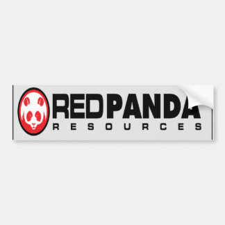 Red Panda Resources Bumper Sticker