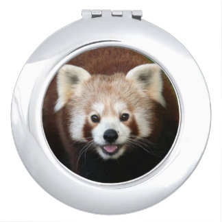 Red Panda Travel Mirror