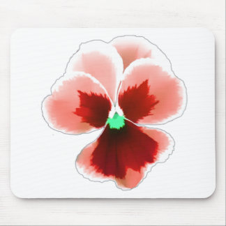 Red Pansy 201711b Mouse Pad