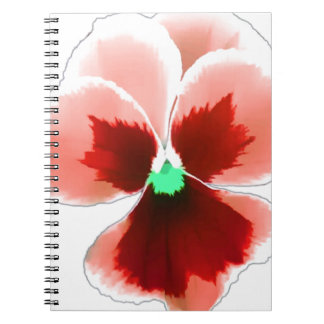 Red Pansy 201711b Notebooks