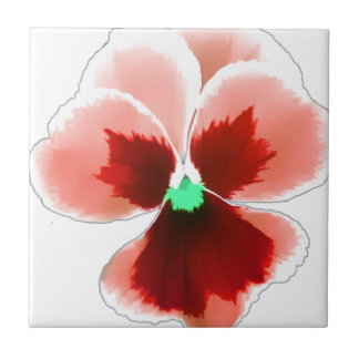 Red Pansy 201711b Tile