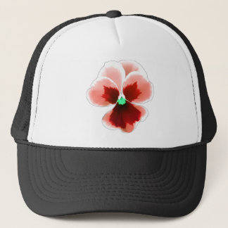 Red Pansy 201711b Trucker Hat