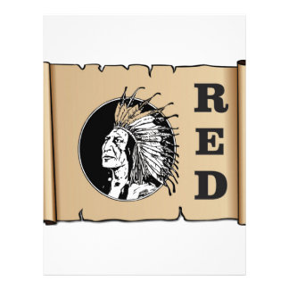 red paper indian
