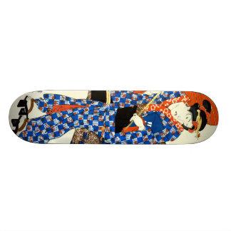 Red Parasol 1843 Skate Board Deck