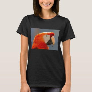 Red Parrot Bird Wildlife T-Shirt