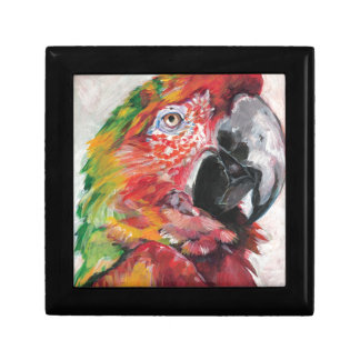 Red Parrot Gift Box